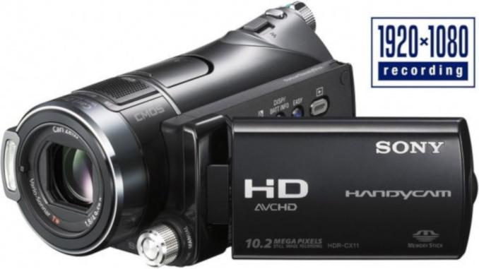 Kamera cyfrowa Sony HDR-CX11E