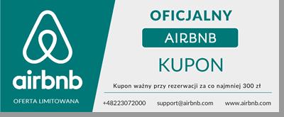 Oficjalny kupon Airbnb