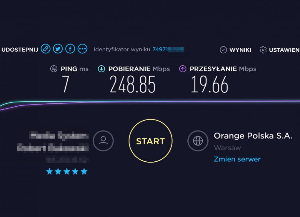 NordVPN speedtest podsumowanie